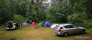 Sziklamászó tábor, Ailefroide