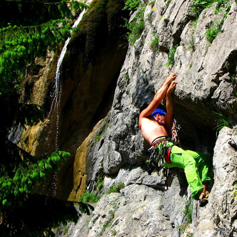 Farkas Gyula sziklamászó és hegymászó oktató