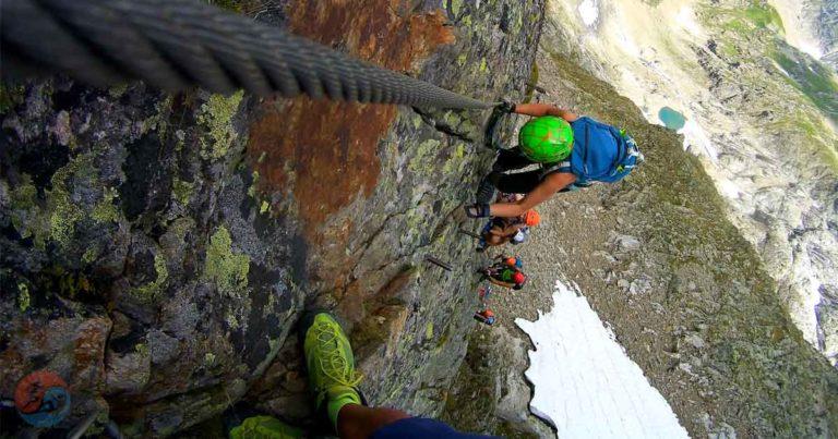 Klettersteig Tierbergli, Steingletscher, Svájc