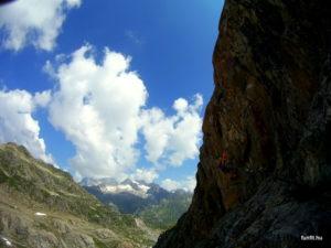 Klettersteig Tierbergli D nehézségű variáns
