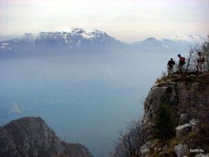 Szilveszteri via ferrata a Garda-tó partján