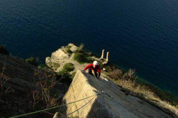 Szilveszter Garda-tó sziklamászás, via ferrata