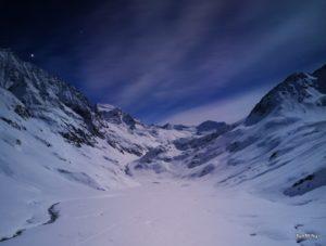 Téli magashegyi tanfolyam 2019, Ambergerhütte
