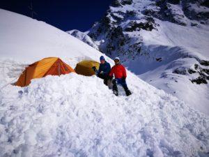 A téli magashegyi tanfolyamon kipróbálhatod az expedíciós felszerelésedet is, ha szeretnéd!