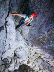 Több kötélhosszas, haladó sziklamászó tanfolyam, Paklenica