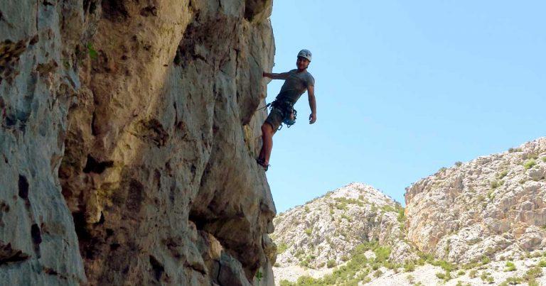 Kezdő sziklamászó tanfolyam, mászótechnika fejlesztő tanfolyam