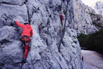 Kezdő sziklamászó tanfolyam, sportmászás alapozás