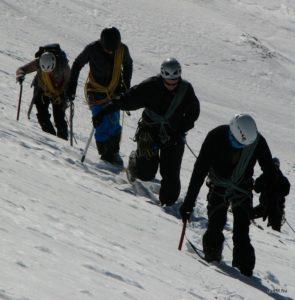Téli magashegyi tanfolyam kezdő és haladó