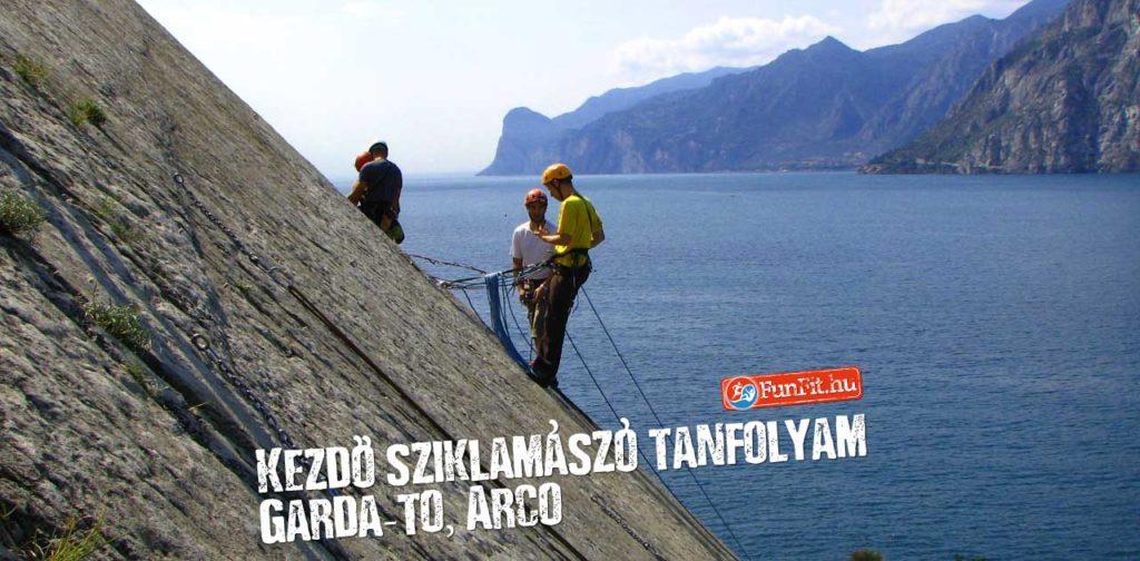 Kezdő sziklamászó tanfolyam, Arco - Garda-tó
