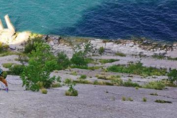 Sziklamászó tanfolyam kezdőknek, Arco, Garda-tó
