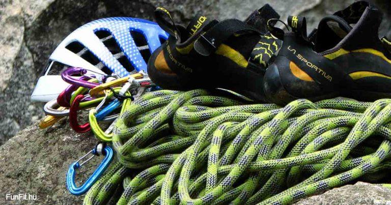 Kezdő sziklamászó felszerelés