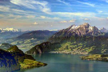 Pilatus-hegy Luzern, Svájc