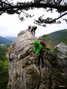 Mödlinger klettersteig - ideális kezdő klettersteig túrázók számára