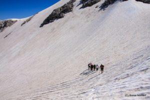 Trekking túra a Krn-re