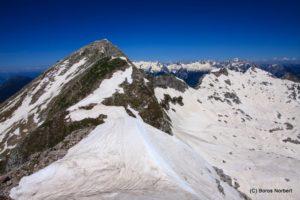 Szlovénia, Júliai-Alpok, Krn csúcsgerinc