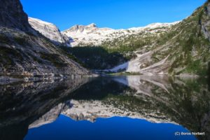Trekking túra a Júliai-Alpokban, Krn