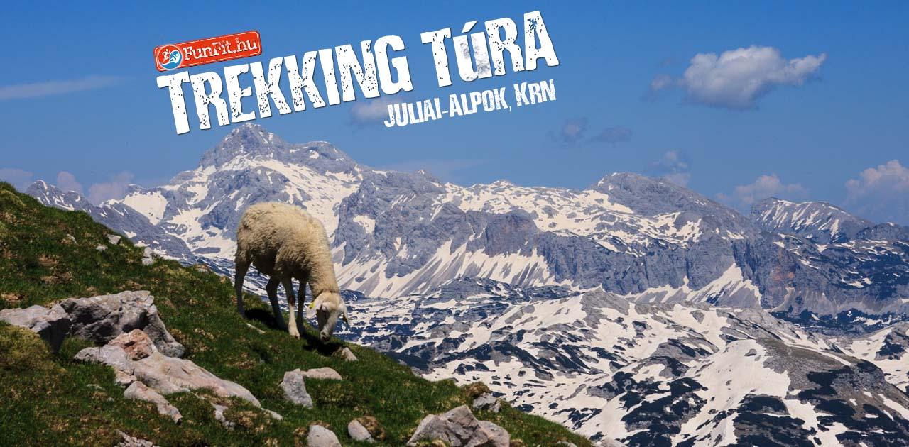Trekking túra, bakancsos túra a Júliai-Alpokban, Krn