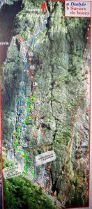 Ailefroide, Babazsúr (5b) tradicionális sziklamászó út