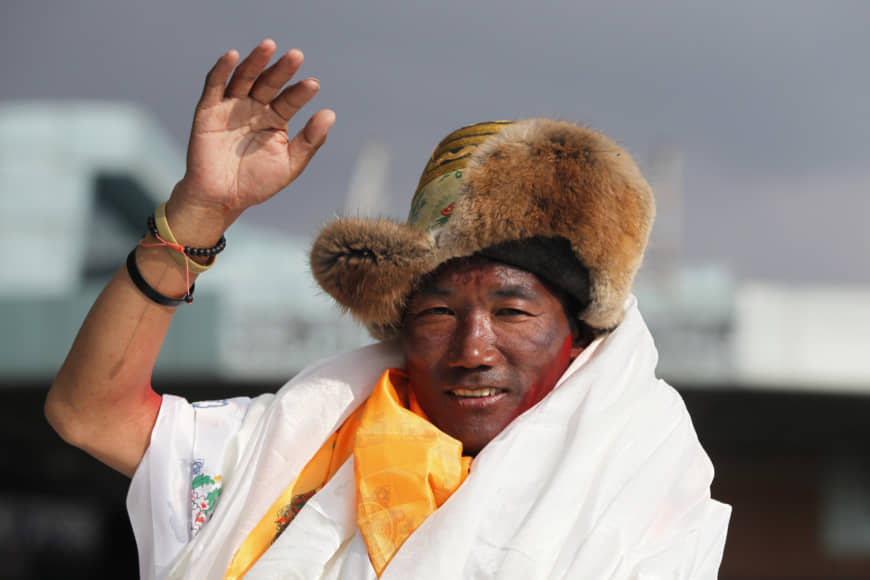 Kami Rita serpa, Mount Everest világrekord 2019