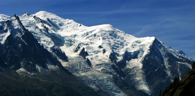 Mont Blanc Bosses-gerinc