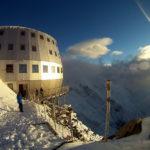 A Gouter-ház, a Mont Blanc francia normálútján