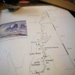 A nyári magashegyi tanfolyam egyik fő célja, hogy megtanuld a topo-kat, falrajzokat értelmezni