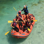 Rafting a Soca-n és via ferrata a Júliai-Alpokban
