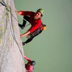 Több kötélhosszas sziklamászás a Grimselpass-on és a Räterichsbodensee-nél
