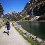 Nagyon könnyű alpesi sétaútvonal