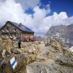 Az alpesi túrák fontos állomásai a hütték