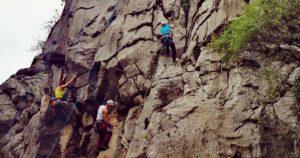 Paklenica örömmászás és sziklamászó találkozó