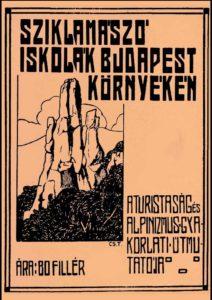 Hefty-Vigyázó Magyarország szikláin sziklamászó kalauz 1913