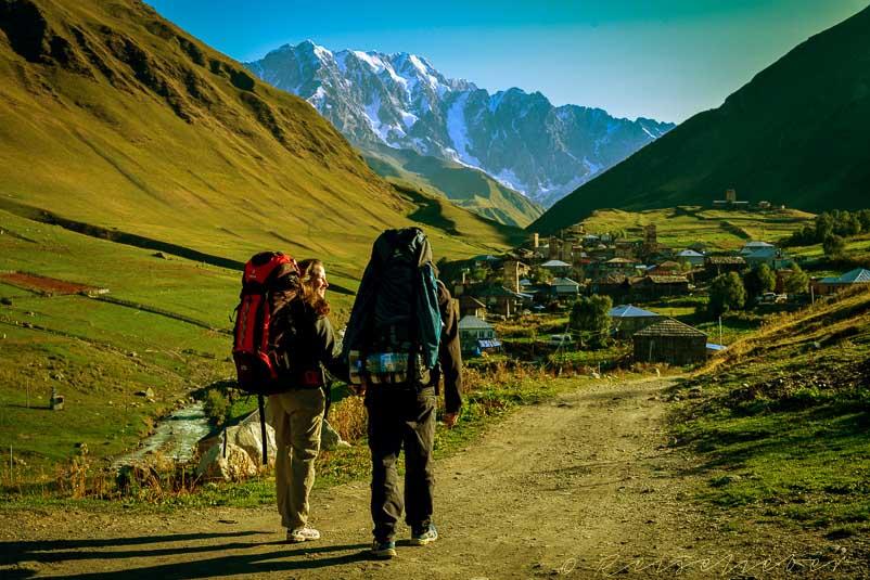 Trekking a Kaukázusban