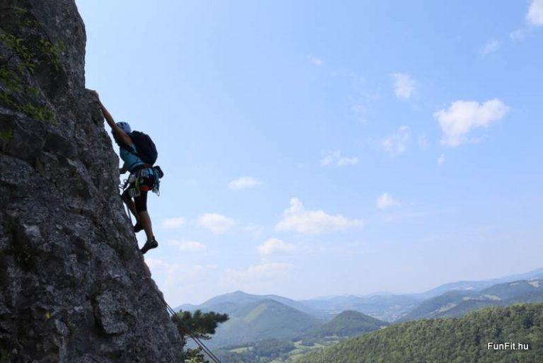Több kötélhosszas sziklamászó tanfolyam Ausztria