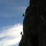 Trad és több kötélhosszas sziklamászó tanfolyam