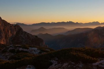 Skrlatica túra, via ferrata a Júliai-Alpokban