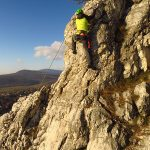 Alpesi mászótechnika bakancsban